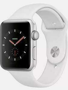 Apple Watch Series 3 GPS, 38mm Silver Aluminium Case with White Sport Band - £208.39 with code on eBay sold by ebuyer_uk_ltd