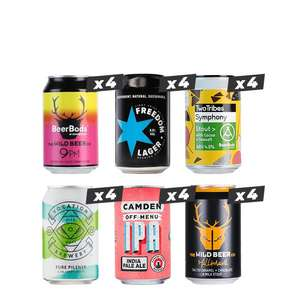 Mixed Style Mixed Mega-pack (New Customer / 24 Beers) £24 delivered (UK Mainland + £5 postage for Northern Ireland) @ Beer Hawk