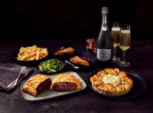 £15 Valentine's Meal Deal: Starter, Main, Two Sides, Desserts and Drinks or Chocolates (+Delivery Charge/Minimum Spend Applies) @ Morrisons