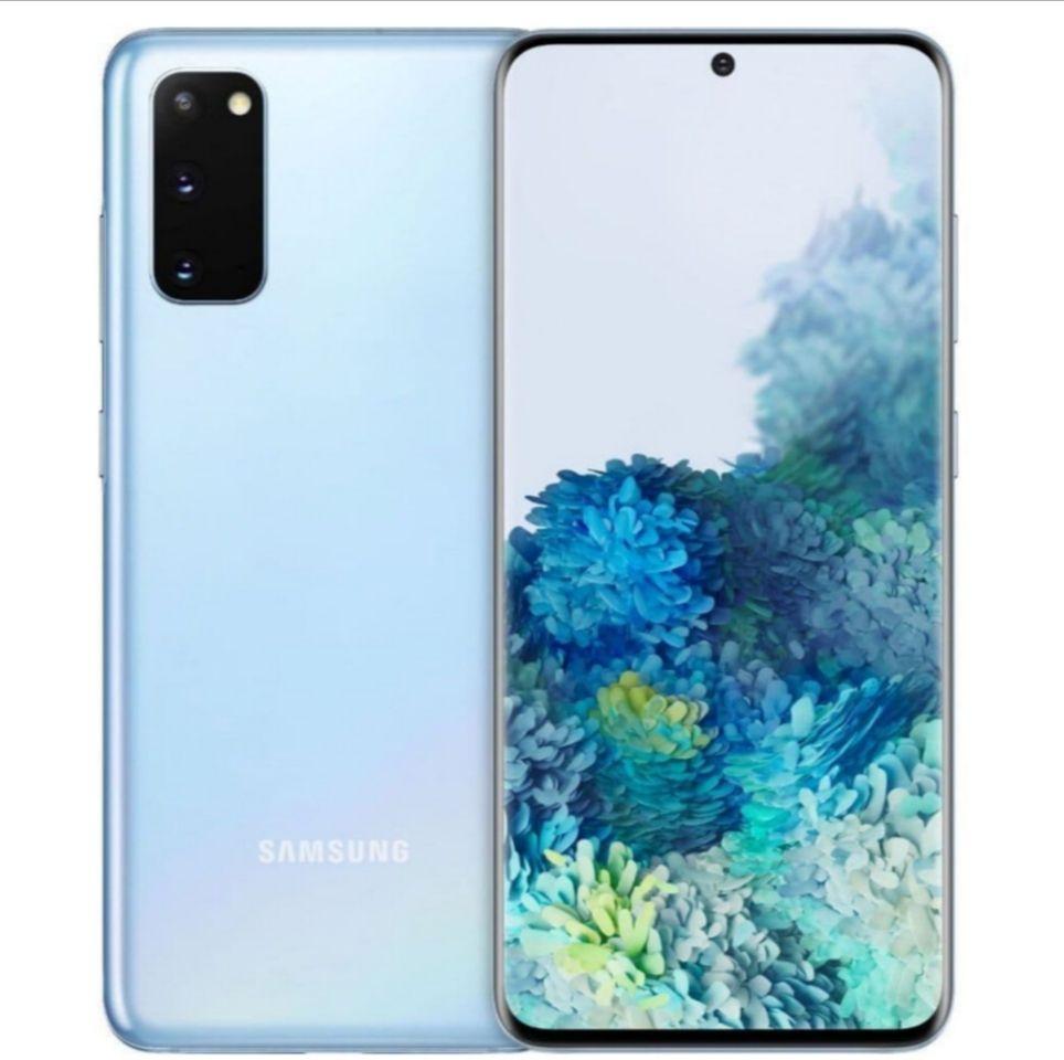 Samsung Galaxy S20 Dual G980FD 4G 128GB Cloud Blue/ Grey (8GB) Smartphone - £559 @ HDEW Cameras