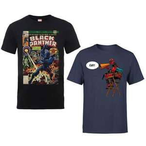 Marvel Bestsellers T-Shirts - 54 to choose from, options for Men & Women now £8.99 + Free delivery using code @ Zavvi