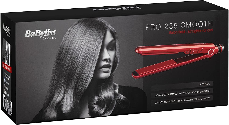 BaByliss 2398BU Pro Smooth Straightener (RED 2015 model) - £25.98 @ Amazon