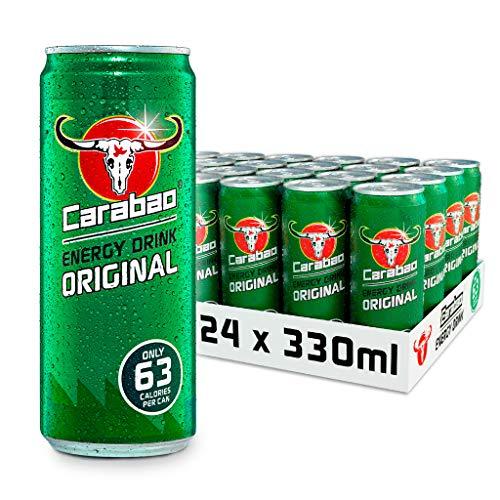 Carabao Energy Drink Original 24 x 330ml - £14.40 prime / £18.89 nonPrime / £9.36 s&s at Amazon