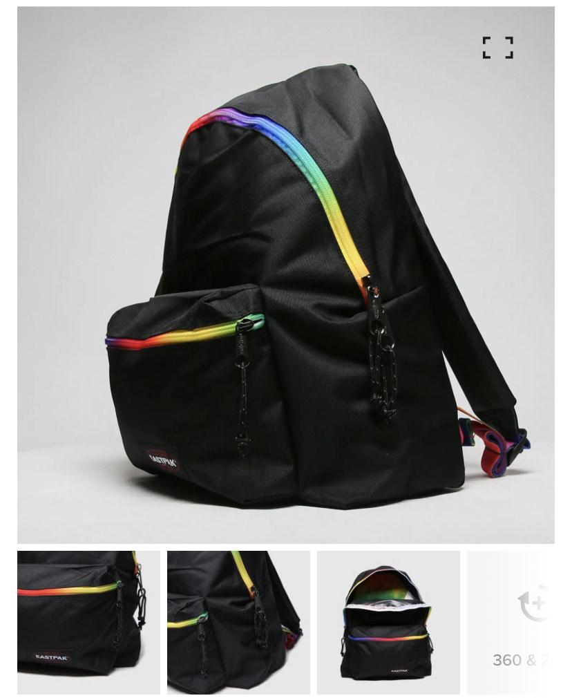 Eastpak black padded pakr backpack £9.99 + £3 delivery @ schuh