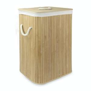 Bamboo Laundry Basket   M&W £11.44 Delivered @ Roov