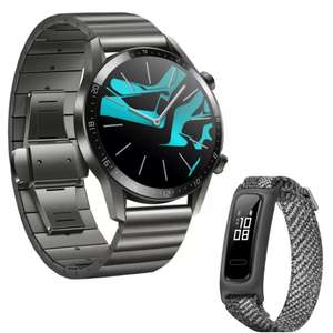 Huawei Watch GT2 Elite Titanium Grey 46mm Smartwatch + Free Band 4e Fitness Tracker - £129.99 delivered @ Huawei Store UK
