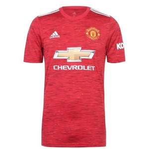 Manchester United Mens 20/21 Home Shirt £36.80 + £4.99 del at Sports Direct