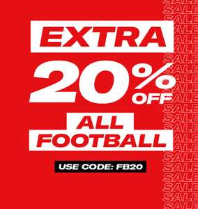 Sports Direct - Extra 20% Off Football Products