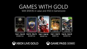 Feb Games With Gold (Gears 5/ Resident Evil/ Dandara/ Lost Planet 2/ Indiana Jones & The Emperor's Tomb) @ XBox Store
