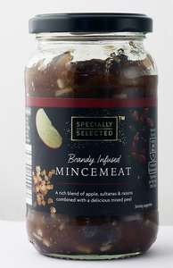 Specially Selected Brandy Infused Mincemeat 411g 9p @ Aldi (Eccles)