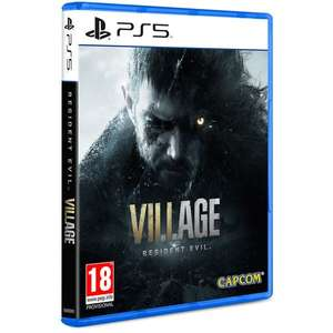 Resident Evil Village + Survival Resources Pack DLC + MR Raccoon Weapon Accessory DLC £49.85 at ShopTo