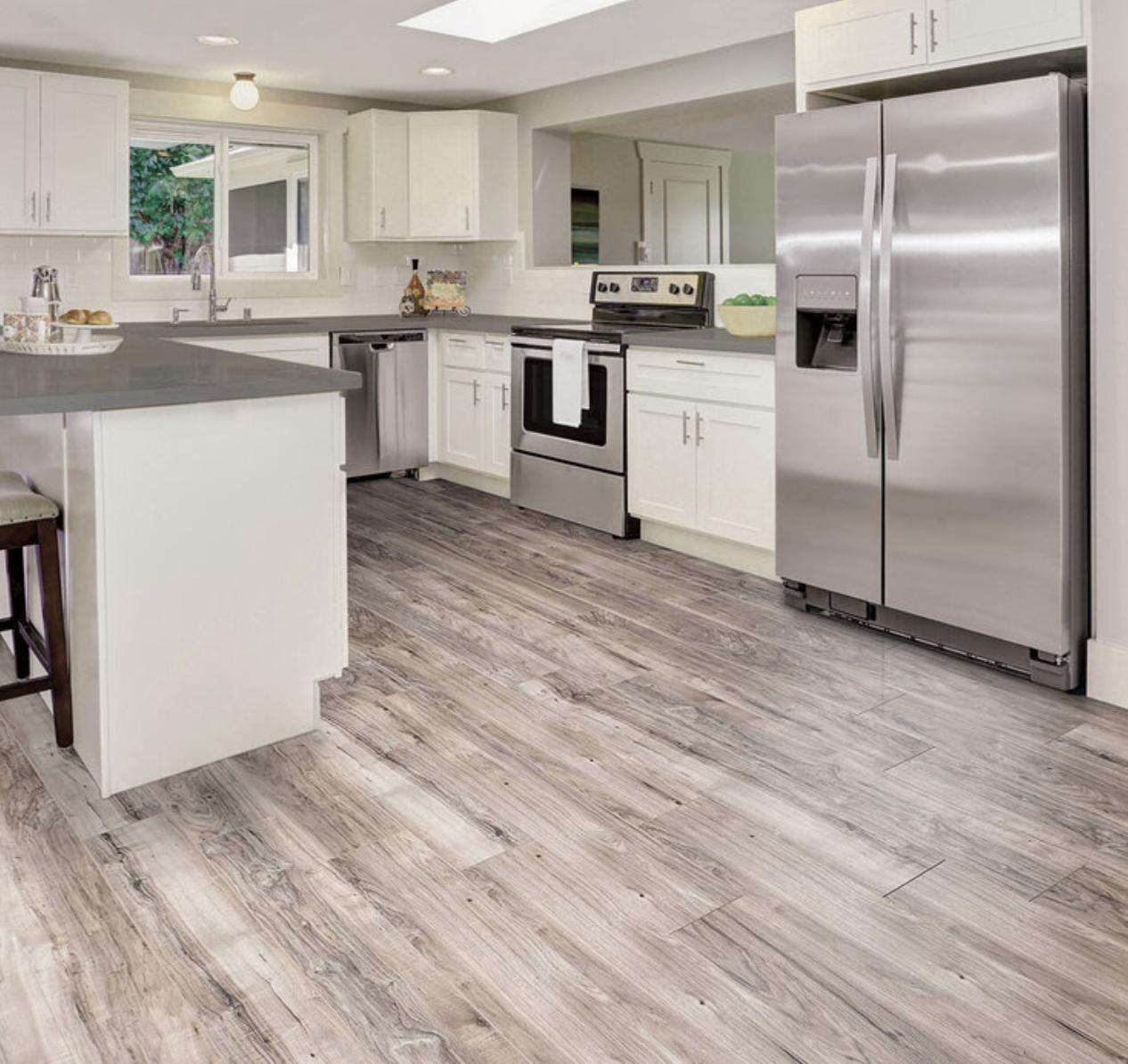 Golden Select Grey (Walnut) Splash Shield AC5 Laminate Flooring with Foam Underlay - 1.146 m² Per Pack - £15.58 @ Costco