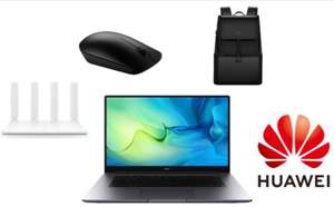 Huawei Matebook D 15 2020 AMD Laptop - 4500U/8GB/512GB + Free Mouse, Backpack & Wifi Router - £589.98 With Code / £539 Students @ Huawei