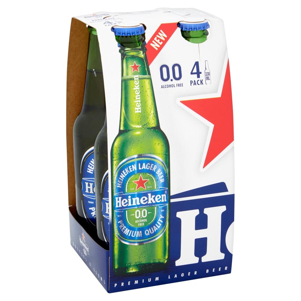 4 x 330ml Heineken Zero - £2 with Coop Members card @ Co-Op