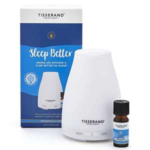 Tisserand Aromatherapy Sleep Better Aroma Spa Diffuser Set (UK Plug) £33.18 delivered with code @ Roov