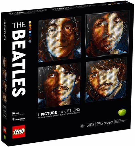 LEGO Art 31198 The Beatles - £65.99 + £3.95 delivery @ Argos