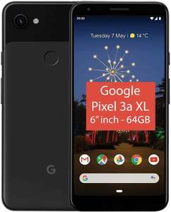 """GOOGLE Pixel 3a XL 6"""" Full HD+ AMOLED - 64 GB, Just Black +2 years guarantee for £249.99 delivered @ Currys PC World"""