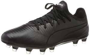 PUMA Unisex King Pro FG Football Boots Size 4, £24.37 (Black) + more sizes and prices @ Amazon.co.uk