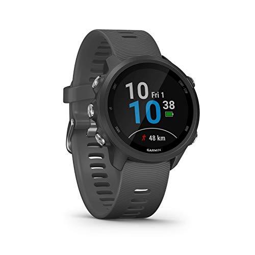 Garmin Forerunner 245 GPS Running Smartwatch with Advanced Training Features - Grey / Merlot - £175 @ Amazon