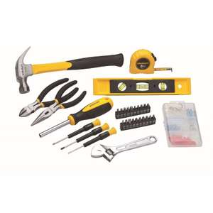 STANLEY 131pc Home Tool Set with bag £25.93 delivered @ Homebase