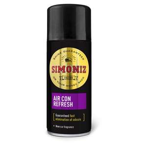Simoniz Air Con Refresh 150Ml - £2 (+ Delivery Charges / Minimum Spend Applies) at Tesco