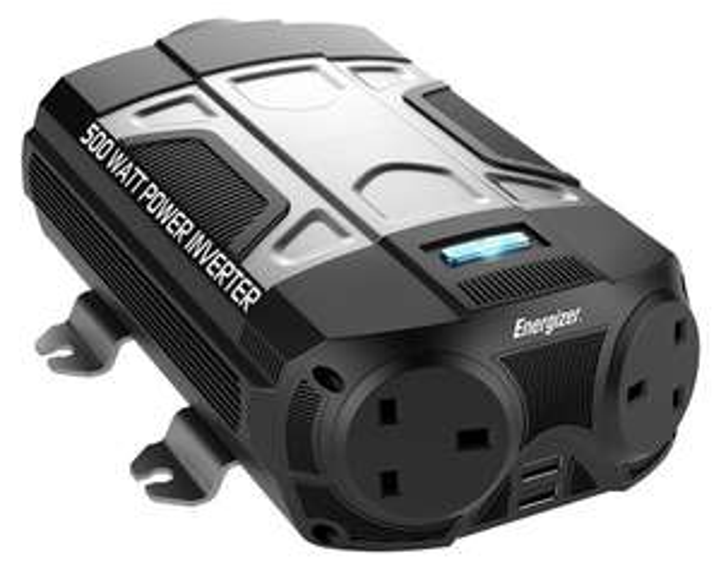 Energizer 500W Power Inverter - £48.99 / £52.94 delivered @ Argos