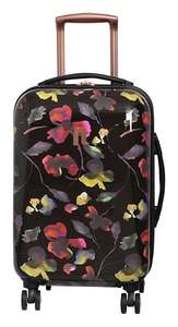 it Luggage Expandable 8 Wheel Hard Cabin Suitcase - Floral - £21.99 / £25.94 delivered @ Argos