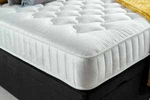 "Double Memory Foam Quilted 8"" Mattress £56.65 / Single £44.96 / King Size £71.74 delivered @ bed-world / ebay"