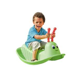 (2 For £15 offer) Chad Valley Rocking Caterpillar for £10 + £3.95 delivery at Argos