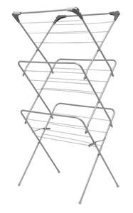 Addis 3 Tier Airer with Hooks for £9.99 (+£4.95 delivery) @ Robert Dyas