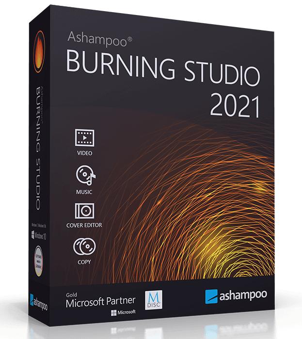 Ashampoo® Burning Studio 2021 Free @ Ashampoo