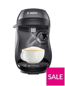 Tassimo TAS1002GB Happy Pod Coffee Machine - Black £39.99 + £3.99 delivery @ Very