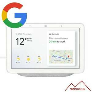 """Google Home Hub 7"""" - Official Google A grade product with full 12 month warranty - £49.95 @ eBay / red-rock-uk"""