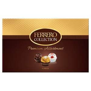 Ferrero Collection Boxed Chocolates 135G - 12 pieces for £2.50 (Clubcard Price) (+ Minimum Basket / Delivery Fees Apply) @ Tesco
