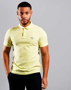 Barbour Beacon Polo Shirt in Pale Lemon (Sizes XS, S, M) £18.49 Delivered (With Code) @ Terraces Menswear