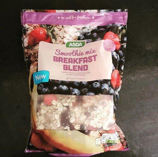 ASDA Smoothie Mix Breakfast Blend 50p instore @ Asda Dundee