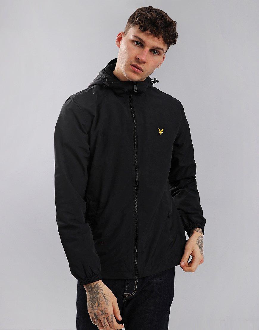 Lyle & Scott Mens Micro Fleece Hooded Jacket in True Black (Sizes L & XL) £38.49 Delivered (use code) @ Terraces Menswear