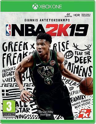 2K Games NBA 2K19 Xbox One like new - Tesco eBay £4.50