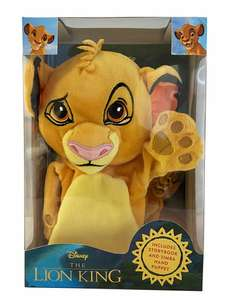 Disney The Lion King Book and Hand Puppet - £6.79 Delivered @ WH Smith