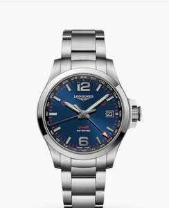 LONGINES Conquest VHP GMT Mens Watch L37184966 £750 @ Mappin and Webb
