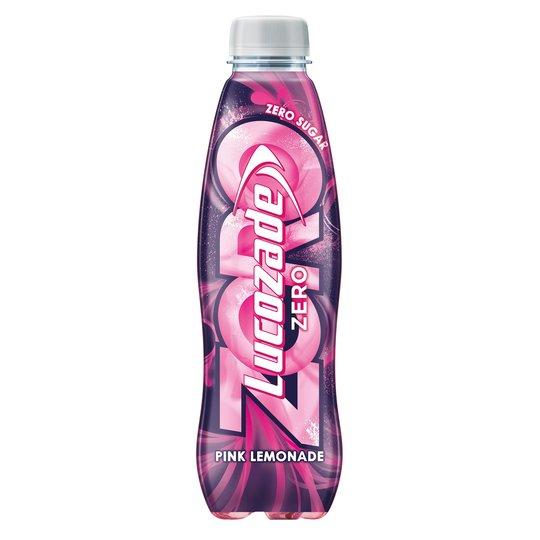 Lucozade Zero Energy Pink Lemonade 500Ml 10p in store Great Yarmouth Superdrug
