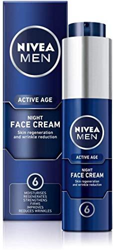 NIVEA MEN ACTIVE AGE Night Regenerator (50 ml), Anti Aging Cream £6 Amazon Prime / £10.49 Non Prime