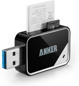 Anker® USB 3.0 Card Reader 8-in-1. £7.64 (+£4.49 Non Prime) Sold by AnkerDirect and Fulfilled by Amazon