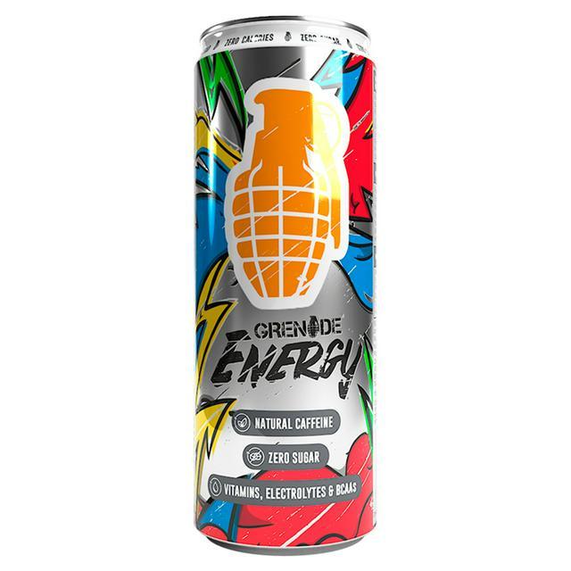 Grenade Energy Drink 330ml @ Sainsburys Stafford