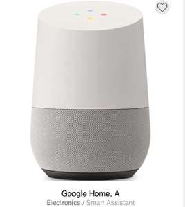 Google Home Smart Speaker With Google Assistant + 2 Year Warranty Grade , A Condition - £33.95 Delivered @ CeX