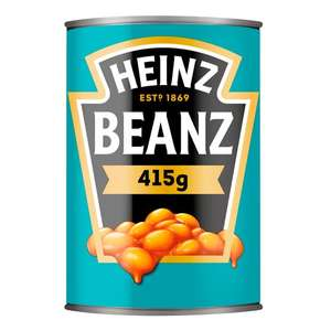 Heinz baked beans 6 for £3 Tesco 415g (+ Delivery Charges / Minimum Spend Applies) @ Tesco