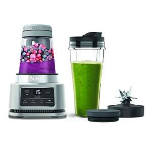 Ninja Foodi Power Nutri Blender [CB100UK] 2-in-1 Blender, Auto-iQ, Smart Motor, 700ml Cup & 400ml Bowl, 1100W £79.99 Delivered @ Amazon