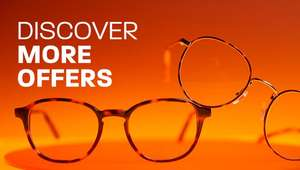 30% off your order when buying any frames £49+ at Glasses Direct