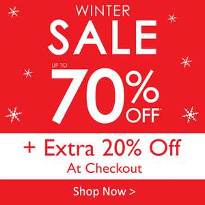 Julian Charles 70% off winter sale + extra 20% off with code - £4.95 delivery / free over £49