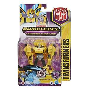 Transformers Bumblebee Cyberverse Adventures Action Attackers Warrior Class Action Figure £7.50 (Prime) + £4.49 (non Prime) at Amazon